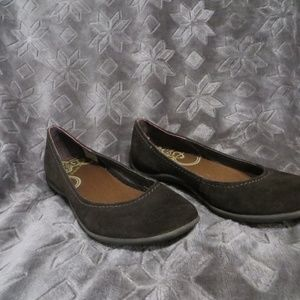 Merrell Brown Leather Flat